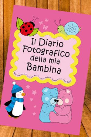 Diario fotografico bambina
