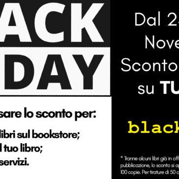 Black Friday: sconto del 20% su TUTTO!
