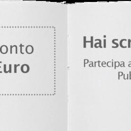 Hai scritto un Libro? Partecipa alla nostra Selezione e vinci un Buono da 100 Euro per pubblicare con noi