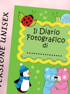 Il Diario fotografico di… Dalla gravidanza al quinto anno… (Unisex Verde)